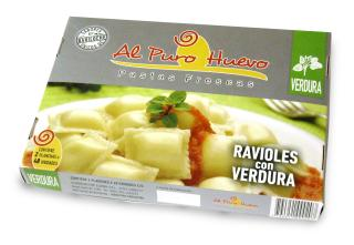 Caja para ravioles